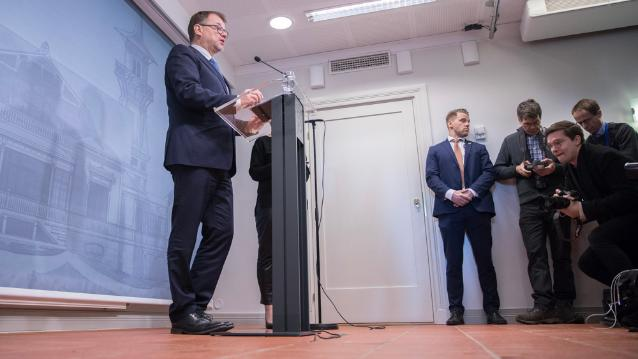 Prime Minister Juha Sipilä submits Government s request for resignation –  Government to continue on caretaker basis 0b853d19b6