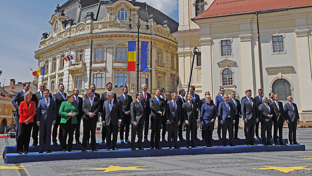 brand new 1c8f8 fd1df EU leaders discussed future EU priorities in Sibiu