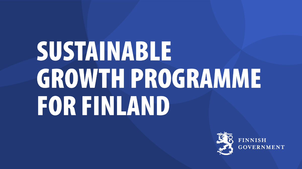Sustainable Growth Programme for Finland