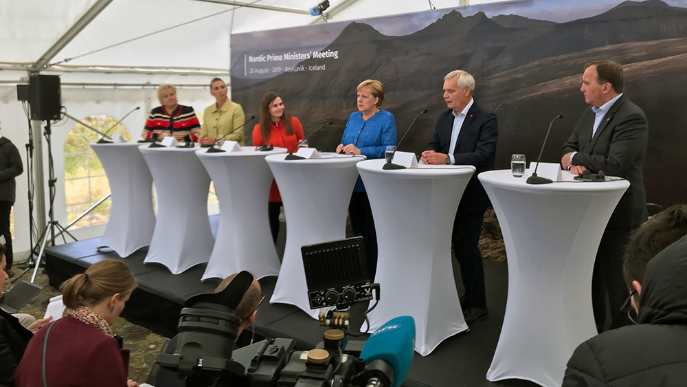 Climate issues and cooperation the main topics at the Nordic Prime Ministers' meeting