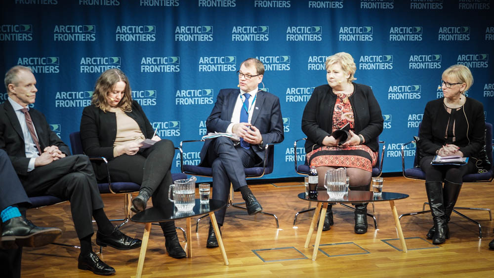 Prime Minister Sipilä highlighted possibilities in the Arctic during his visit to Norway
