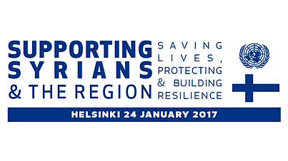 Conference on Supporting Syrians and the Region in Helsinki