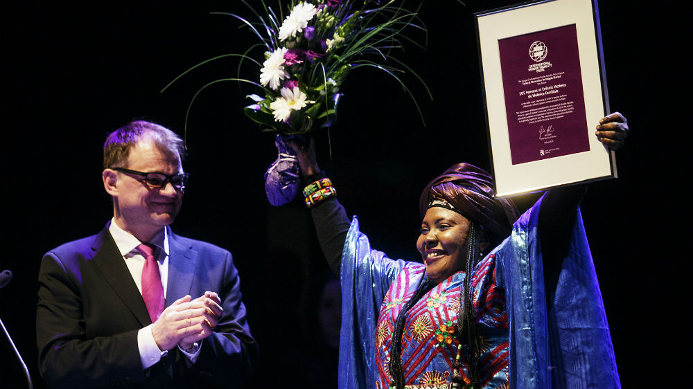 Gender Equality Prize to combating violence against women and girls
